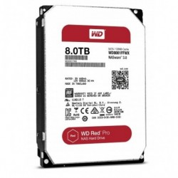 "HARD DISK RED 8 TB SATA 3 3.5"" NASWARE (WD8001FFWX)"