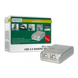 Data Switch elettronici per 2 pc -  per condividere una periferica USB con due PC