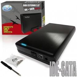 """BOX ESTERNO 3.5"""" GS-35IS SATA/IDE USB"""