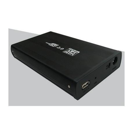 """BOX ESTERNO 3.5"""" HB358BK SATA USB NERO"""