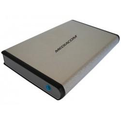"""BOX ESTERNO DATA BANK 2.5"""" ME-HDOTG SATA USB NERO"""