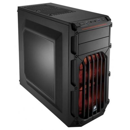 CASE GAMING CARBIDE SPEC-03 (CC-9011052-WW) LED ROSSO