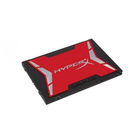 "HARD DISK SSD 240GB HYPERX SAVAGE 2.5"" SATA 3 (SHSS37A/240G)"
