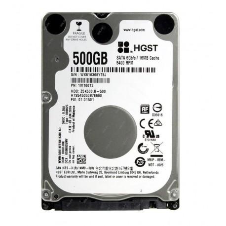 """HARD DISK TRAVELSTAR 500 GB 2,5"""" SATA 3 Z5K500.B HTS545050B7E660 (1W10013)"""