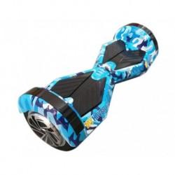"""HOVERBOARD BLU ICE MONOPATTINO ELETTRICO 2 RUOTE 6.5"""""""