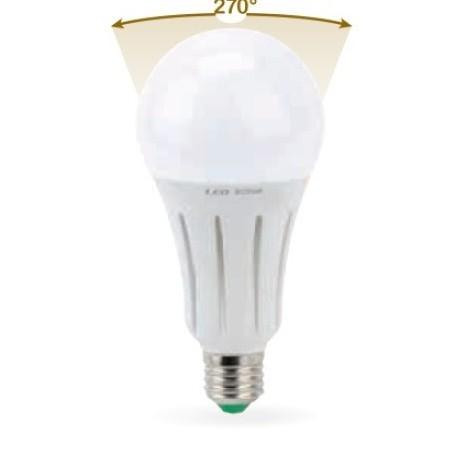 LAMPADA LED GOCCIA E27 24W FREDDA 6000K (0627F)