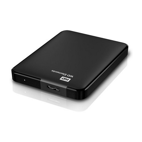 """HARD DISK 750 GB ESTERNO ELEMENTS USB 3.0 2,5"""" NERO AUTOALIMENTATO"""