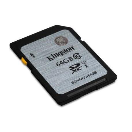 SECURE DIGITAL 64 GB (SD10VG2/64GB) UHS-I CLASS10