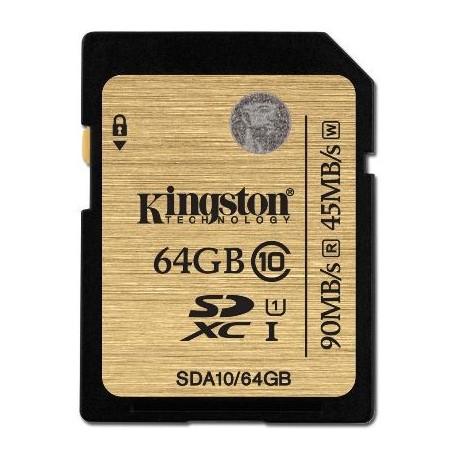SECURE DIGITAL 64 GB (SDA10/64GB) CLASS 10
