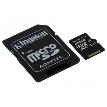 TRANS FLASH 128 GB (SDC10G2/128GB) CLASS 10