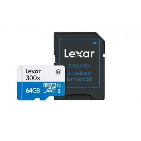 TRANS FLASH 64 GB (LSDMI64GBBEU300) CLASS 10