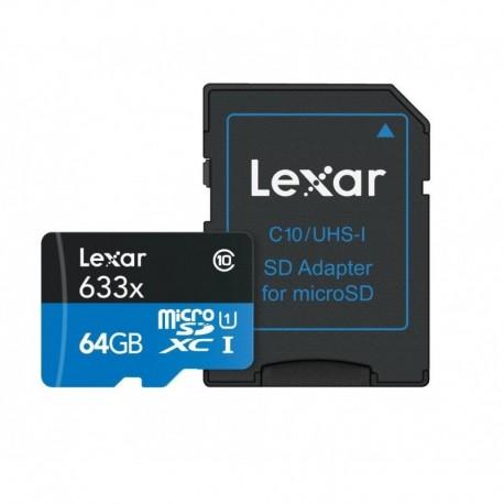 TRANS FLASH 64 GB (LSDMI64GBBEU633A) CLASS 10