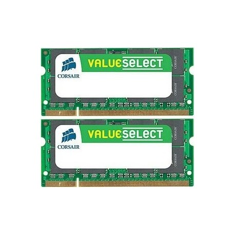 MEMORIA SO-DDR2 4 GB PC800 MHZ KIT (2X2) (VS4GSDSKIT800D2)