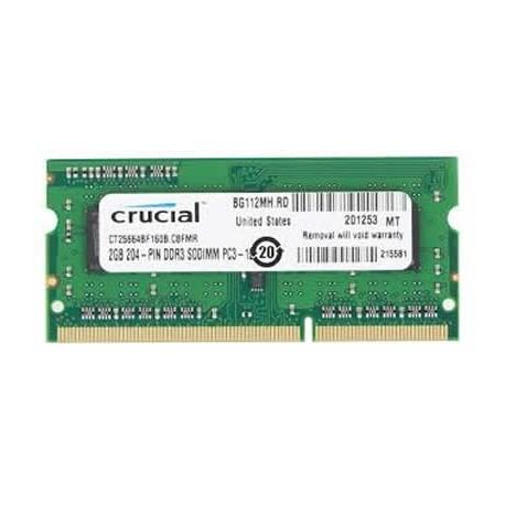 MEMORIA SO-DDR3 2 GB PC1600 (1X2) (CT25664BF160B)