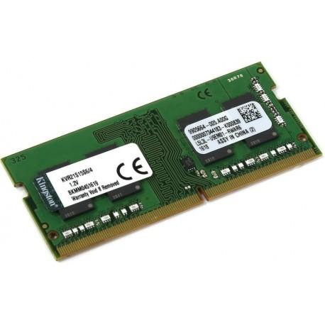 MEMORIA SO-DDR4 4 GB PC4-2133 (1X4) (KVR21S15S6/4)