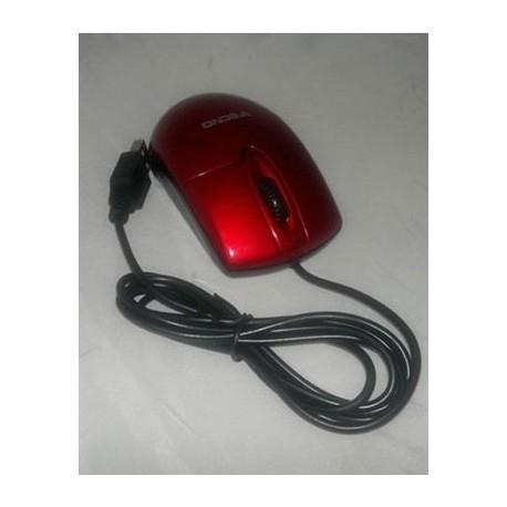 MOUSE OTTICO TC 12 MINI ROSSO USB