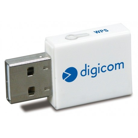 SCHEDA DI RETE WIRELESS USB WU300W-L01 300 MBPS (8E4550)