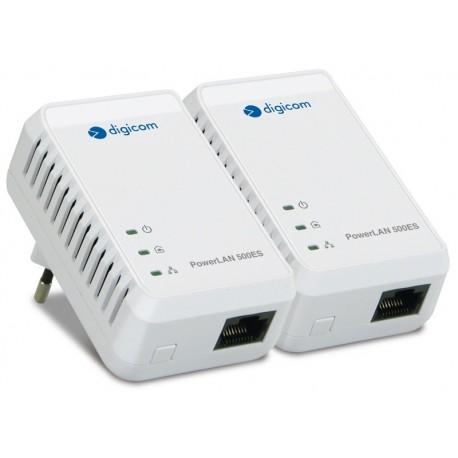 KIT ADATTATORE DI RETE POWERLINE PL502E-A02 500 MBPS AV500 (8E4526)