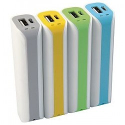 POWER BANK 2200MAH (M-PB22C) AZZURRO