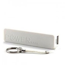 POWER BANK 2600 MAH BIANCO (PB-MP005-WH)