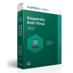 SOFTWARE ANTIVIRUS 2017 3 CLNT (KL1171TBCFS-SLIM)