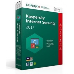 SOFTWARE INTERNET SECURITY 2017 3 CLNT (KL1941TBCFR-7SL)