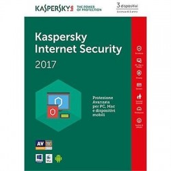 SOFTWARE INTERNET SECURITY 2017 3 CLNT (KL1941TBCFS-7SLIM)