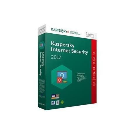 SOFTWARE INTERNET SECURITY 2017 5 CLNT (KL1941TBEFS-7SLIM)