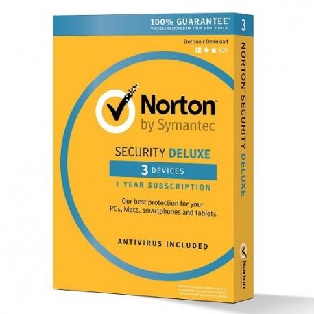 SOFTWARE NORTON SECURITY DELUXE 3 DISPOSITIVI (21355471)