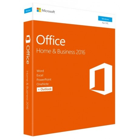 SOFTWARE OFFICE HOME AND BUSINESS 2016 (T5D-02801) MEDIALESS (KEY CARD)