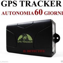 GPS TRACKER LOCALIZZATORE TK 104 SPIA CON CALAMITA