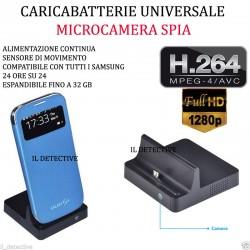 Micro telecamera spia nascosta carica batteria hd video micro camera microcamera