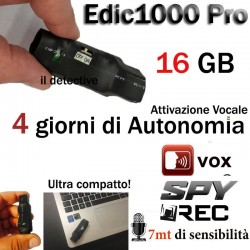 Registratore audio microspia spia digitale mini ambientale