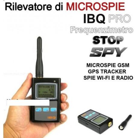 RILEVATORE DI MICROSPIE PROFESSIONALE IBQ SPIA SPIE GSM GPS SPIE CIMICI