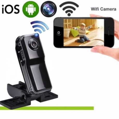 Md81s MINI nascosta Spy Motion Detection WIFI P2P Telecamera IP alimentato dalla rete camma