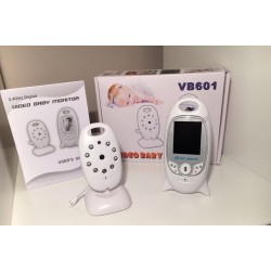 "2.4GHz Wireless Digital Video Baby Monitor 2' ""LCD a colori Audio Talk Visione Notturna"