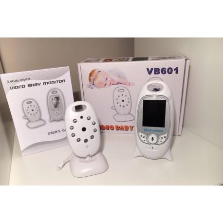 "2.4GHz Wireless Digital Video Baby Monitor 2' ""LCD a colori Audio Talk Visione Notturna"