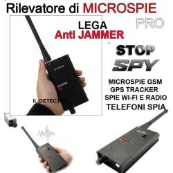 RILEVATORE DI MICROSPIE PROFESSIONALE SPIA AMBIENTALE, SPY SPIE CIMICI GPS