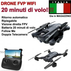 DRONE QUADRICOTTERO RADICOMANDATO 4CH X2 2,4Ghz CAMERA HD VIDEO FOTO USB LED