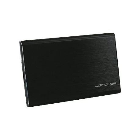 """BOX ESTERNO PER HD 2,5"""" SATA USB 3.0 (LC-25U3-7B-ALU) NERO"""
