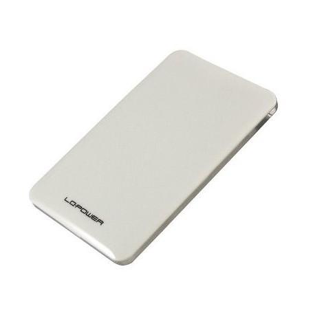 """BOX ESTERNO PER HD 2,5"""" SATA USB 3.0 (LC-25U3-7W) BIANCO"""