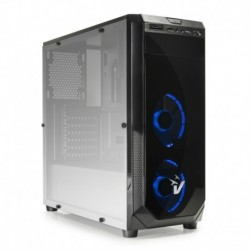 CASE GAMING BLACKDOOM GS-0385BL - VENTOLE BLU - NO ALIMENTATORE