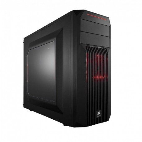 CASE GAMING CARBIDE SPEC-02 (CC-9011051-WW) LED ROSSO