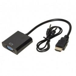 ADATTATORE HDMI A VGA E AUDIO (LKADAT10)