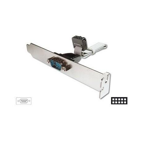 CAVO CON STAFFA METALLICA INT/EST SERIALE RS232 (AK575)