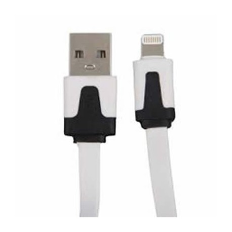 CAVO DATI FLAT PER IPHONE 5 1MT (24.92)