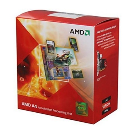 CPU A4-3400 FM1 BOX 2.7 GHz